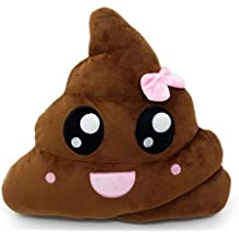 Pink Poop Emoji Smiley Emoticon Cushion Pillow Stuffed Plush Toy Doll Poop Face Bed Pillow Home