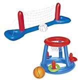Bestway Jeu de Jouets de Piscine gonflables Volleyball