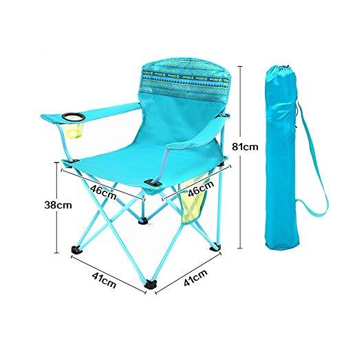 Gghy-camping tables Tragbare Freizeit Strand Skizzieren Stuhl Mazar Angeln Stuhl, Klappstuhl Picknickstuhl, Outdoor Klappstuhl, Outdoor Leichtgewicht (Skizzieren Panel)