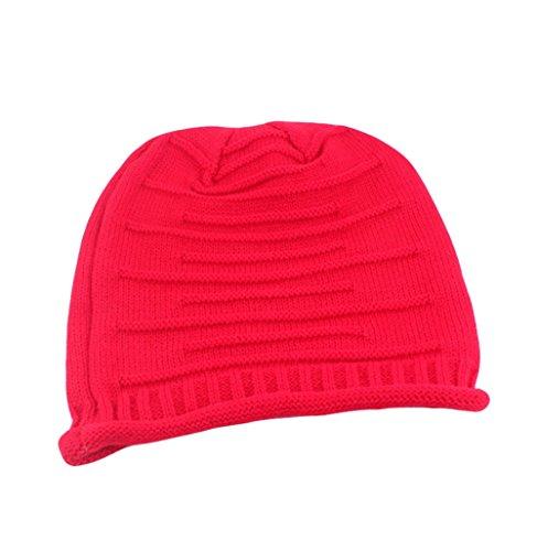 Da Wa lana cappello autunno/inverno caldo cappello caldo red Nuovo arrivo