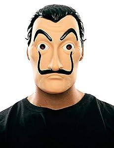 Original Cup-Máscara Oficial Salvador Dali la casa de Papel, 48084,, única