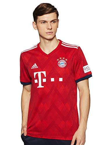 adidas Herren H JSY T-shirt, FCB True Strong red f11/White, M