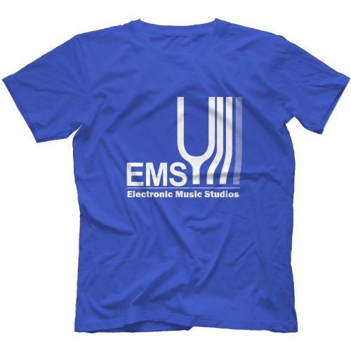 EMS Electronic Music Studios T-Shirt Königsblau