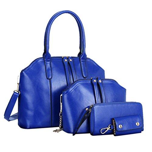 YOUBan Damen Handtasche Mode Frauen Ledertasche Schultertasche Messenger Tasche aus Leder Schultertasche Umhängetasche