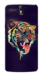 HACHI Premium Printed Cool Case Mobile Cover for OnePlus 1
