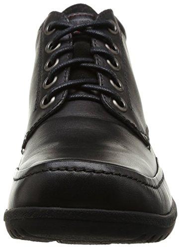 Pikolinos Stutgart, Chaussures de ville garçon Noir (Black)