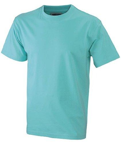 Herren T-Shirt ohne Seitennähte Mint