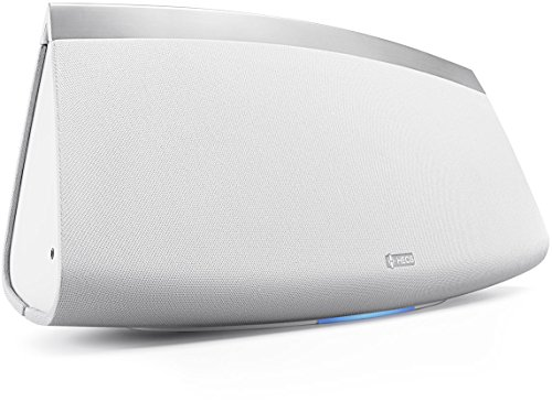 Denon Heos 7 HS2 Diffusore Wireless Amplificato per Streaming Audio da Collegare ad Una Rete Wi-Fi Domestica, Bianco