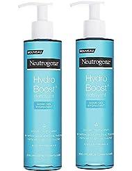 Neutrogena Hydro Boost Nettoyant Aqua-Gel Hydratant - Lot de 2