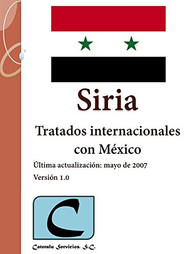 Siria - Tratados Internacionales con México