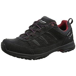 Berghaus Men's Expeditor Active AQ Tech Shoes, Multicolor (Dark Grey/Red B86), 12 UK