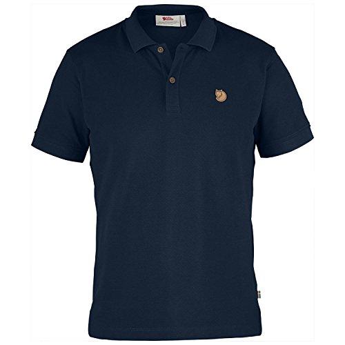 Fjällräven Herren Övik Polo Shirt Poloshirt Blau