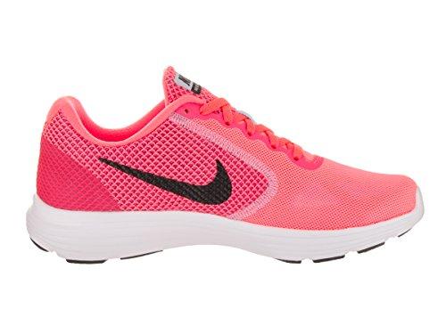 Nike Damen Wmns Revolution 3 Laufschuhe Mehrfarbig (Hot Punch/black-aluminum-white)