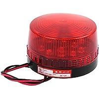 sourcingmap® LTE-5061 DC 12V Industrielle rote LED-Blitzlampe Warnlicht für Notfall