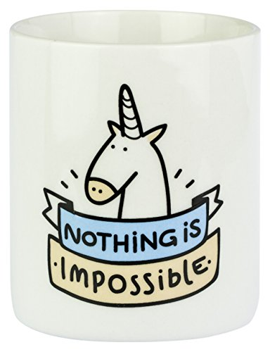 Mr. Wonderful - Taza con mensaje Nothing is impossible