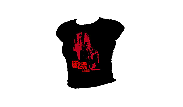 James Bond 007 FROM RUSSIA WITH LOVE-ROUGE GRANT femme T-Shirt
