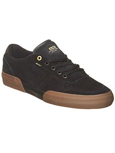 Globe Mojo Legacy, Scarpe da Skateboard Unisex – Adulto Nero (Black / Gum)