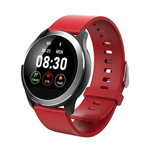 DHJWAI wasserdichte Uhr Ip68 EKG + Pcg Herzfrequenz Fitness AktivitäT Tracker Herzfrequenzmesser Smart Watch SchrittzäHler GPS-Positionierung FüR Ios Und Android