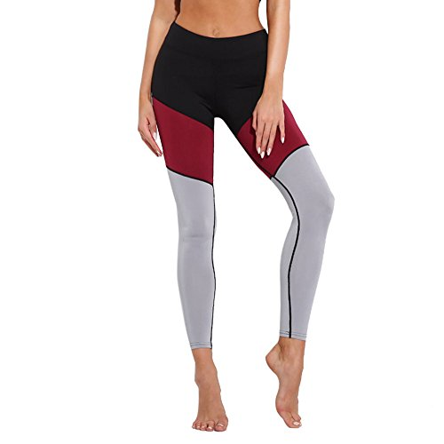d90fa744d0be49 Styledresser Leggings Sportivi Donna - Maglia Eleganti Leggings Sport Opaco  Yoga Fitness Poliestere Palestra Pantaloni Leggings