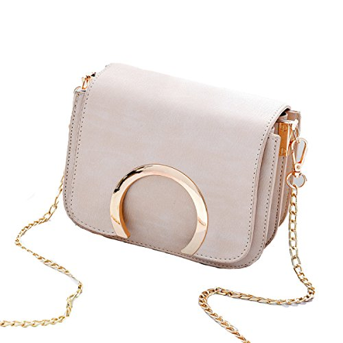 KYFW Frauen Umhängetasche Mode Kette Tasche Messenger Bag Wild Damen Tasche E