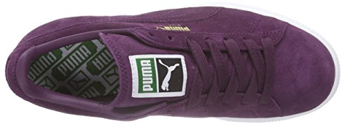 Puma Suede Classic + , Baskets Basses Homme Violet (italian Plum-white 64)