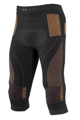 X-Bionic Herren Funktionshose Man EN Accumulator UW Pants, Mehrfarbig (Schwarz/Orange), XXL, I020012