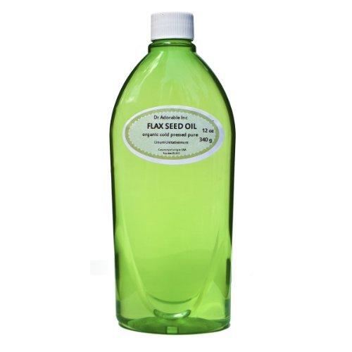 Best Premium Flax Seed Oil Organic Pure Super High Quality 36 Oz (3 of 12 oz Bottles)