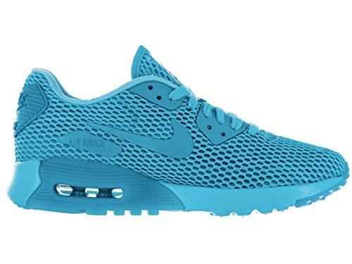 Nike W Air Max 90 Ultra Br, Baskets Femme, Noir (Schwarz) Bleu