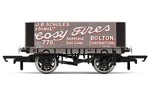 Hornby R6871 Scholes & Sons Carro de Carga de 6 Placas