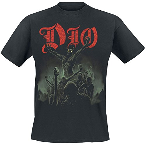 Dio Stand up and Shout T-Shirt Schwarz M