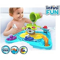 Infinifun- Taldec S17150 Petite Ile De Bain Jouet