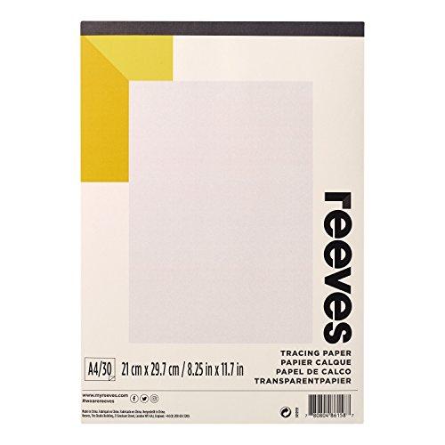 Reeves Blocco Carta Da Lucido A4 - 30 fogli