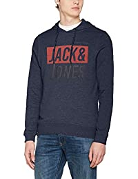 JACK & JONES Herren Kapuzenpullover Jcowilly Sweat Hood