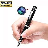 Jiyibidi Full HD 1080p Versteckte Kamera Mini Spy Pen Kamera Video & Foto Recorder, (1080P)