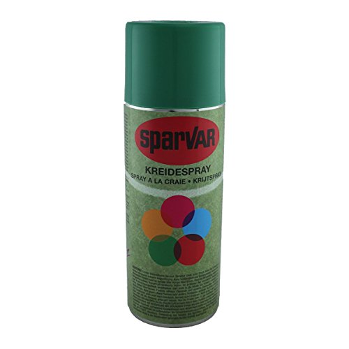SparVar Kreidespray mit Überkopfdüse, 400 ml, grün, 6001050