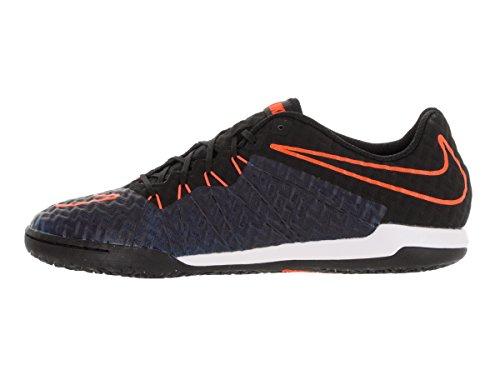 Nike Hypervenomx Finale Ic, Chaussures de Football Homme Noir - Negro (Negro (Black/Black-Ttl Orange-Rcr Bl))