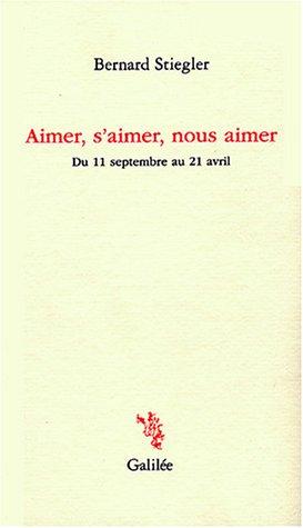 Book's Cover of Aimer saimer nous aimer  Du 11 septembre au 21 avril