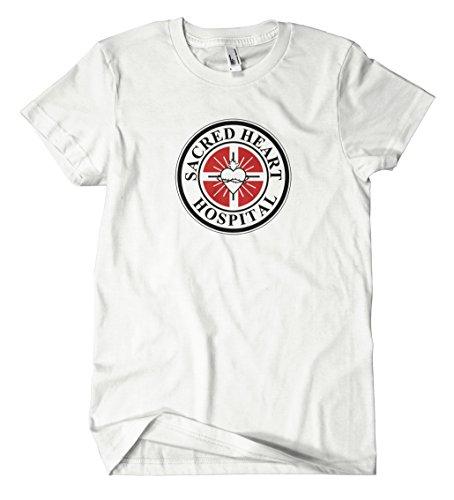 Sacred Heart T-Shirt Weiß