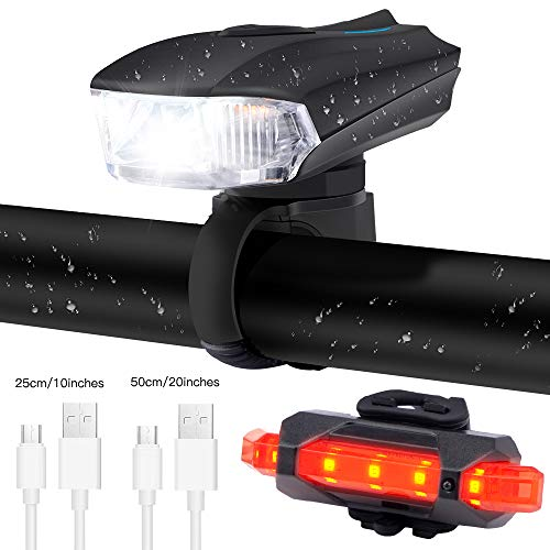 Nice and sturdy bike light set.