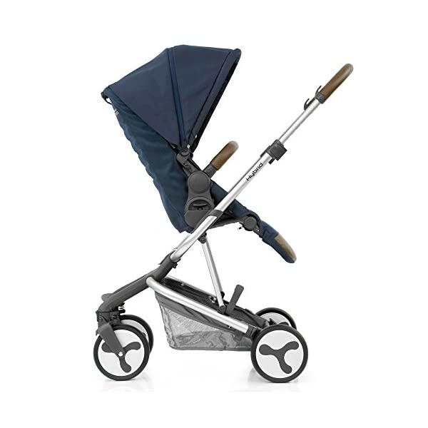 BabyStyle Hybrid City Stroller, Simply Navy Babystyle A truly unique innovative and contemporary designed single stroller Sleek, modern and versatile travel system Smaller wheels, perfect for the city 2