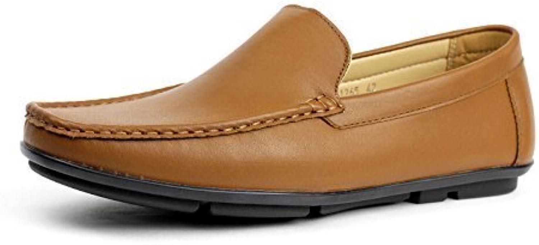 ALBERTINI Hombre Sin Cierres Informal Conducción Zapatos Elegante Diseño Moderno Mocasines Mocasin Estilo