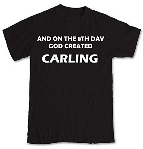 and-on-the-8th-day-god-created-carling-black-short-sleeve-t-shirt-from-our-unique-t-shirt-range-an-o