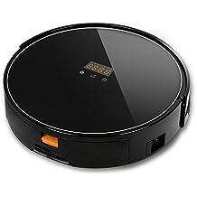 ASLANDARA aspirapolvere robot Vacuum Cleaner robot con tecnologia ad alta potenza di aspirazione, volume 65 dB, robot con filtro, pulitore robot con telecomando