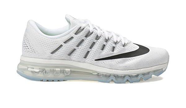 769969ce7020f4 Nike Air Max 2016 Sneaker Laufschuhe Weiss schwarz  Amazon.de  Schuhe    Handtaschen
