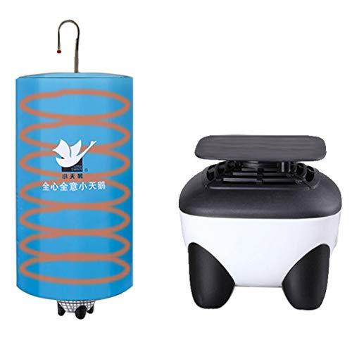 Essiccatore Portatile Ad Aria Calda, Silenzioso A Risparmio Energetico - Essiccatore Domestico A Grande capacità per Dormitori - Armadio - Cuscinetto di Carico da 10 kg - Potenza 500w - 42 * 80 Cm