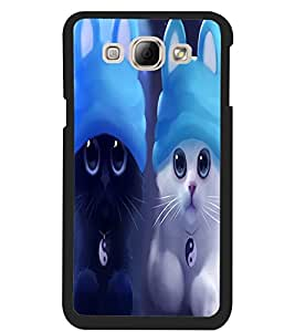 ColourCraft Cute Kittens Design Back Case Cover for SAMSUNG GALAXY A8