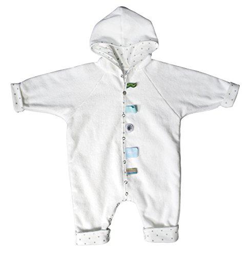 Snoozebaby Baby Bathsuit (74-86cm, Serene weiß)