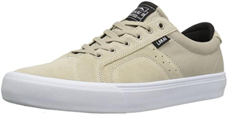 Lakai Skateboard Shoes Flaco Cream Suede Size 13  -