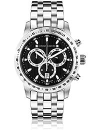 Chrono Diamond Reloj con movimiento cuarzo suizo 12100B Man Plateado 43.0 mm
