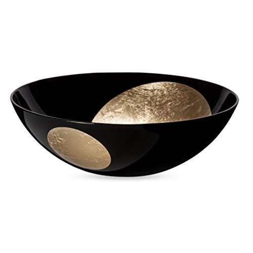 Gold And Platinum Leaf Bowl MoMA Exclusive by Mina